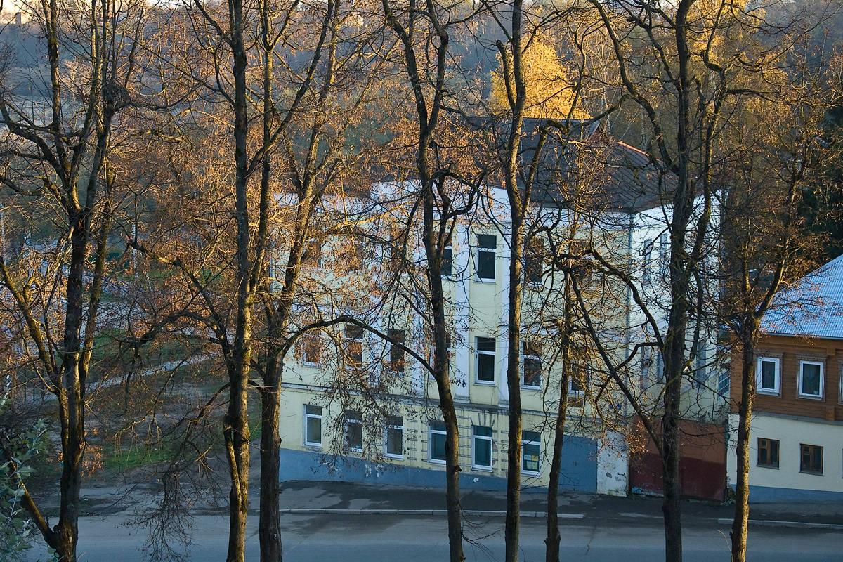 Боровск. Октябрь
