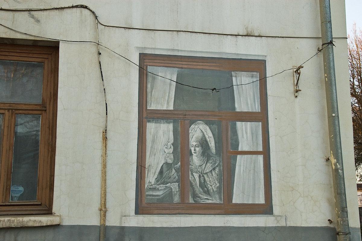 Боровск: современные росписи