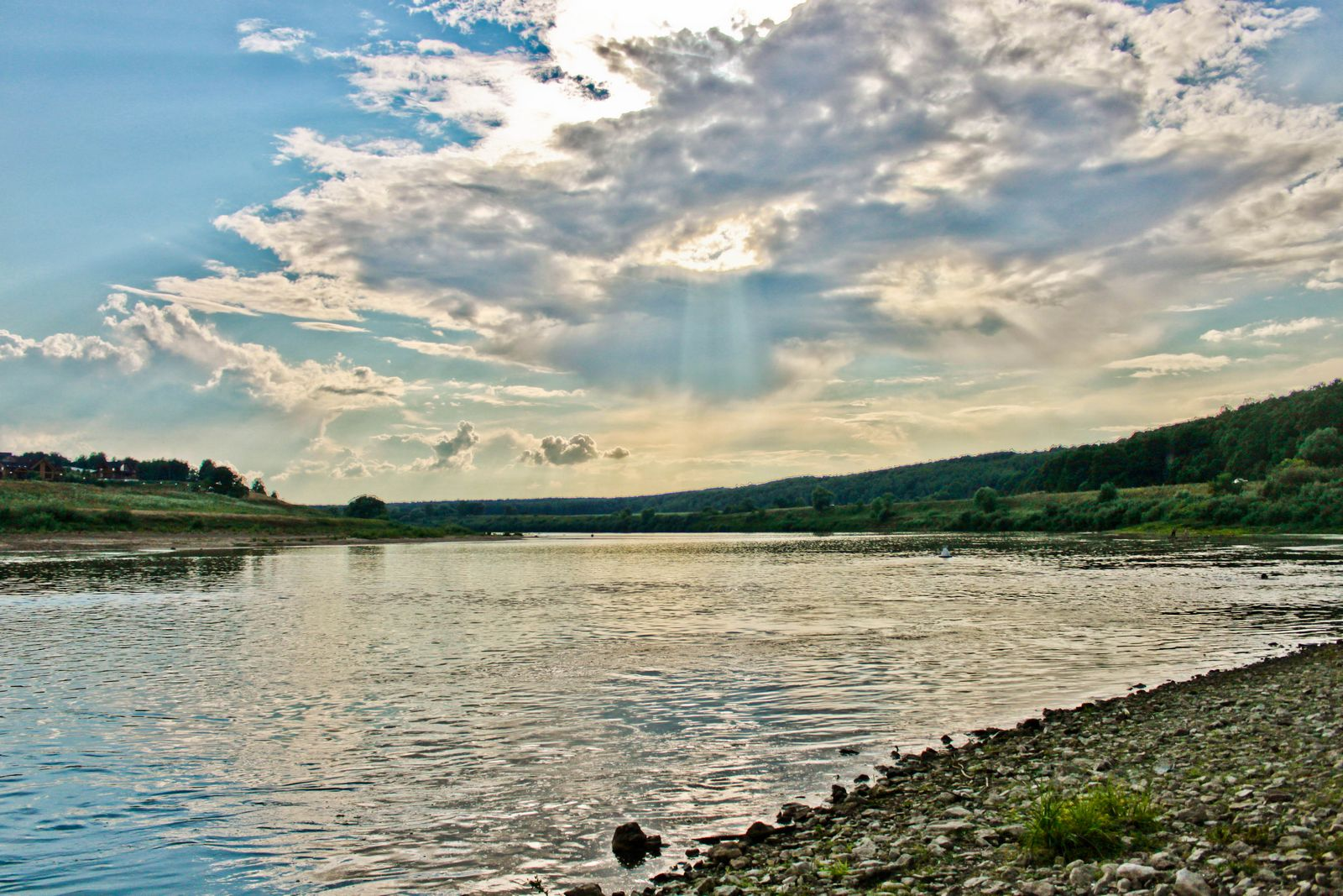 Река Ока. Автор фото: Юлия Свиткова