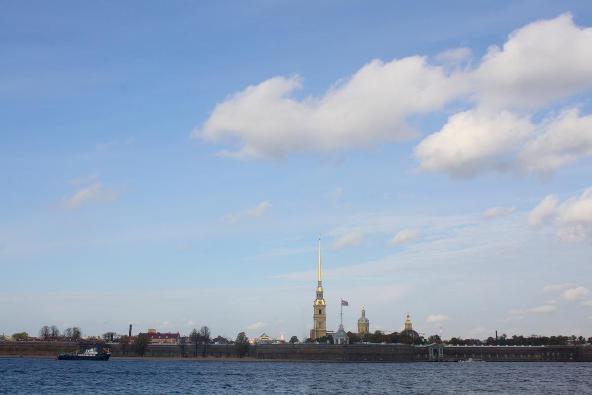 Нева. Петропавловская крепость. Автор фото: Йохан Метте