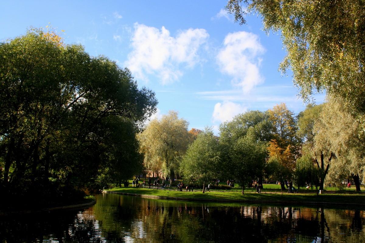 Юсупoвский сад. Автор фото: Йохан Метте