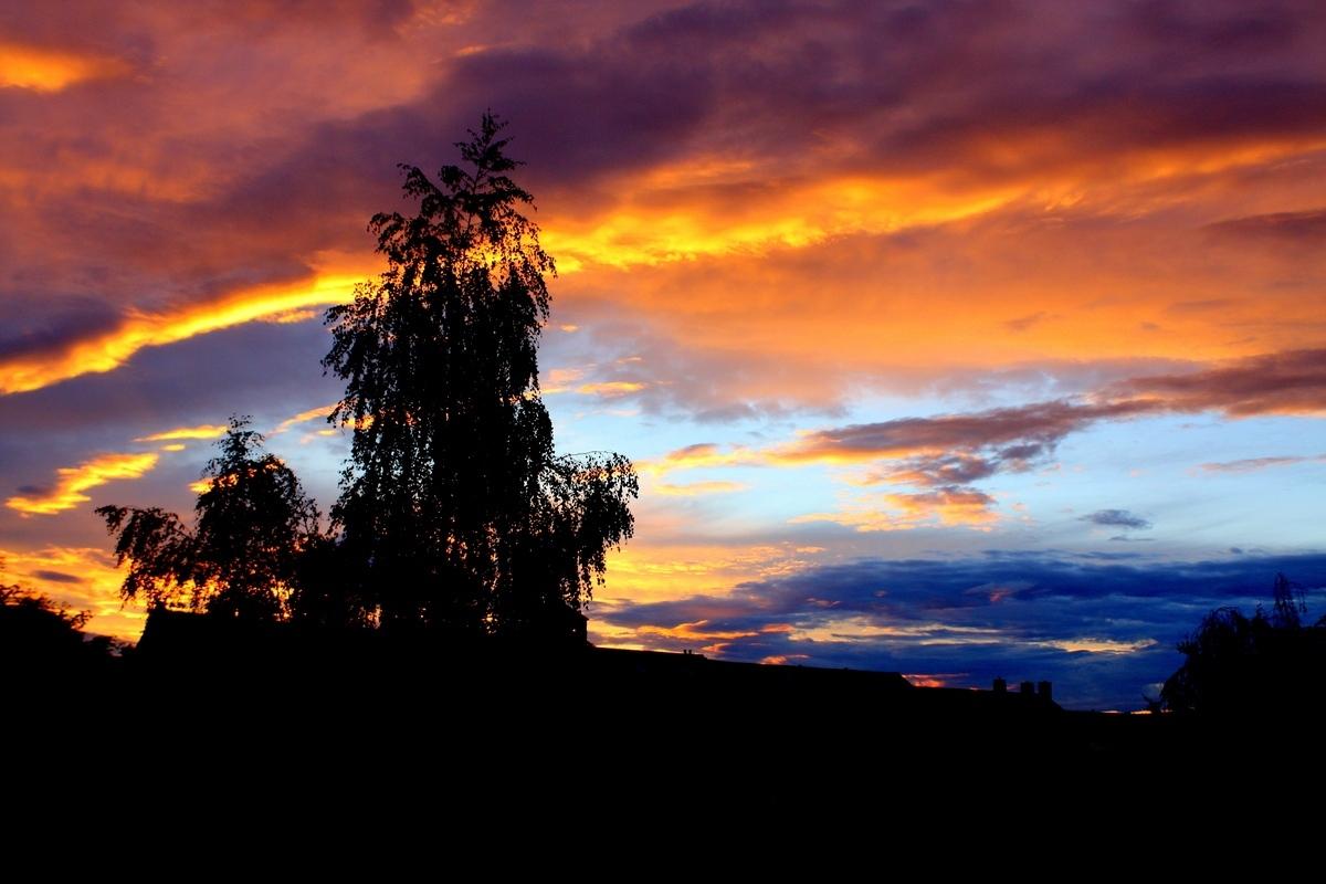 Вечерние зори. Автор фото: Йохан Метте
