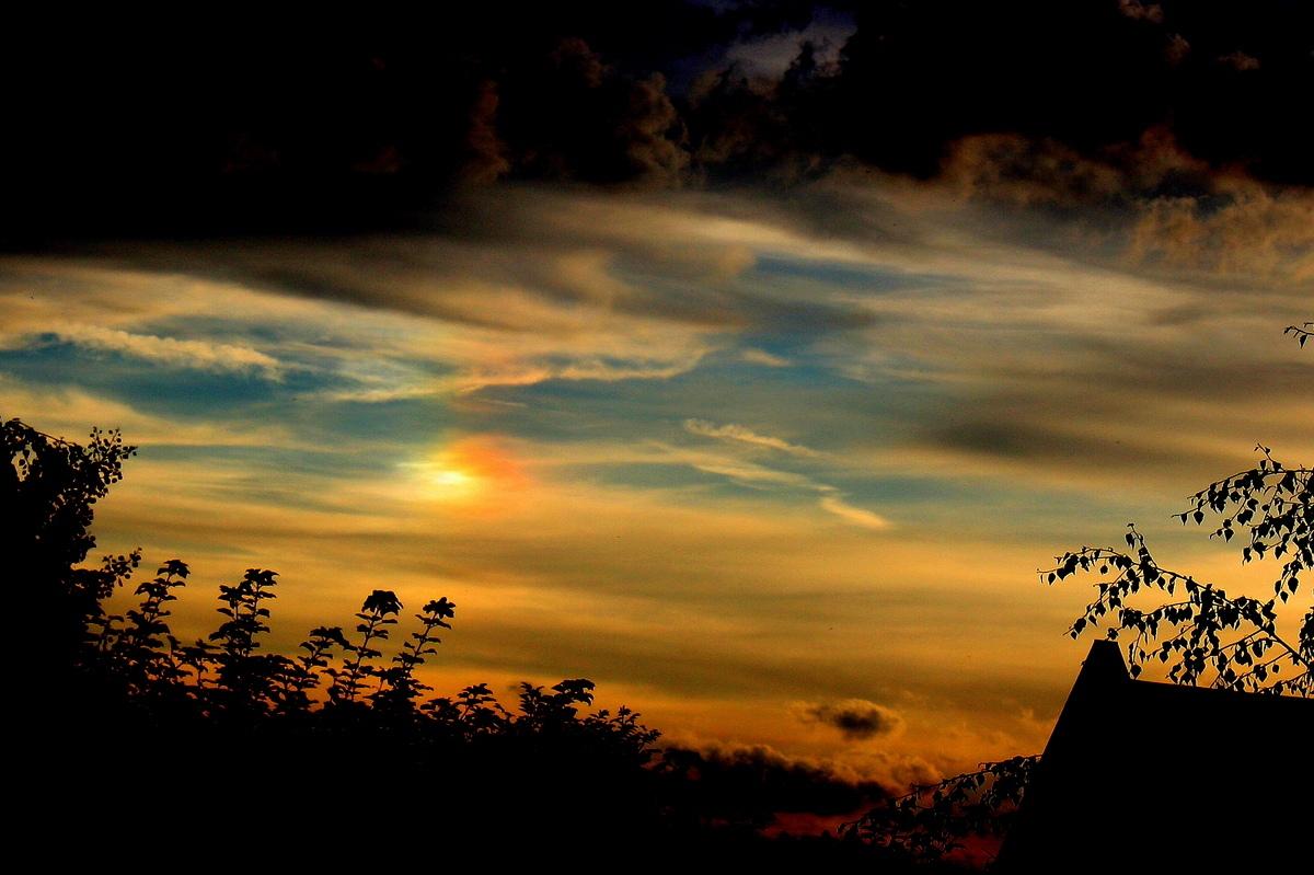 Побочное солнце. Автор фото: Йохан Метте