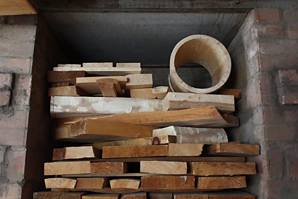 Сушка в дровяной печи. Автор фото: Кром Игорь