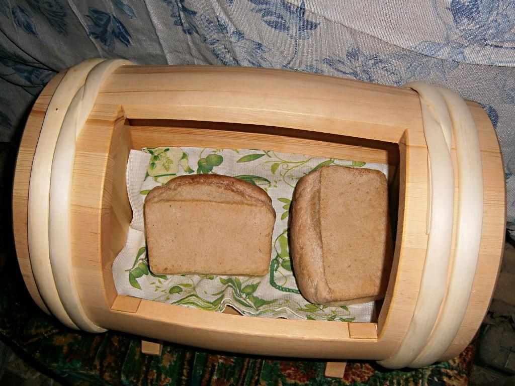 Бондарная хлебница. Автор фото: Кром Игорь