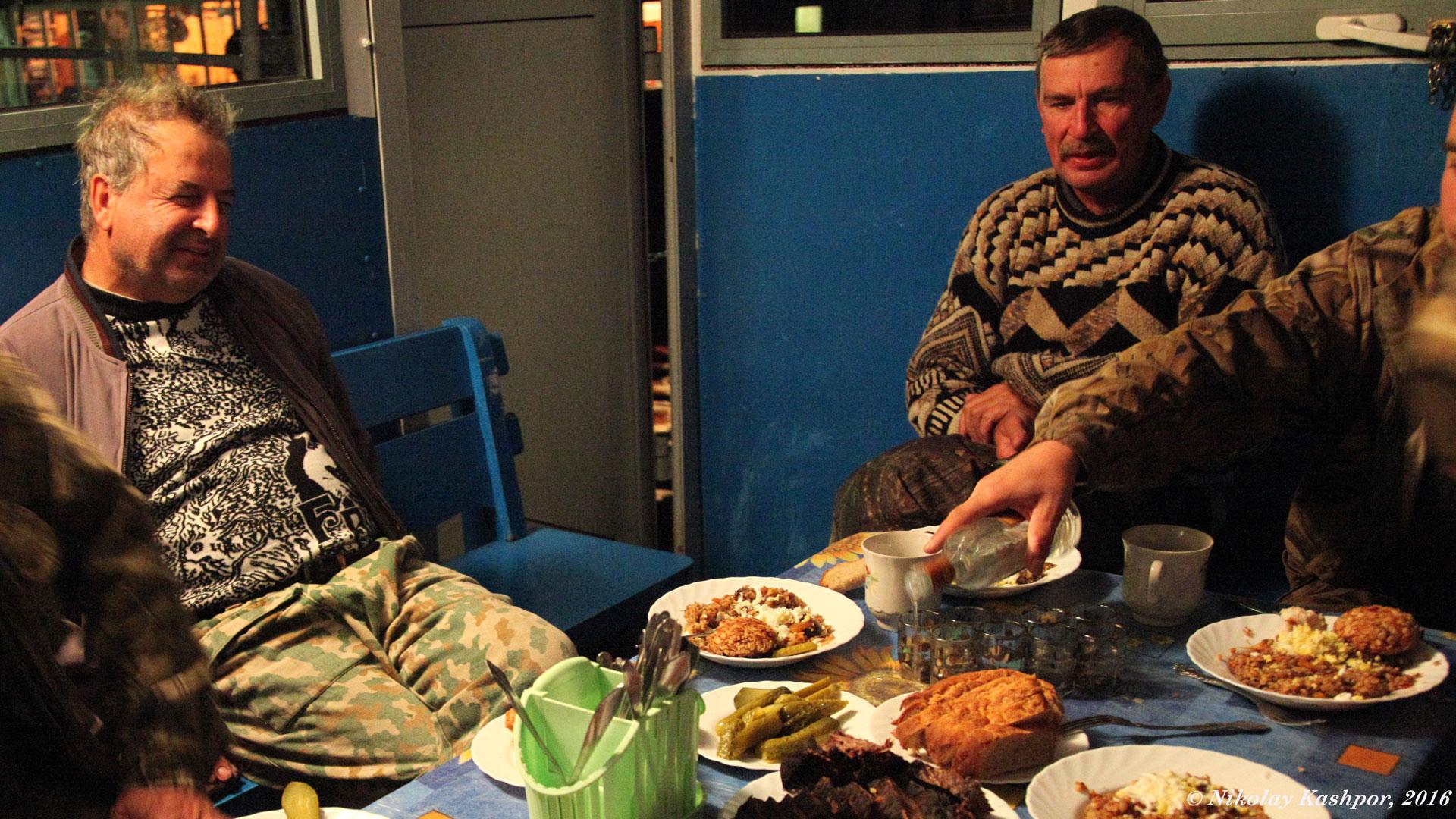 Ужин. Автор фото: Кашпор Николай