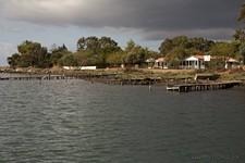 Рыбацкий поселок.