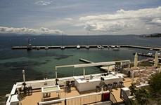 Вид на яхтенную марину NAOK
