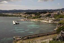 Вид из крепости на яхтенную марину NAOK