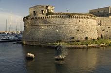 Галиполи. Крепость. Памятник морскому ежу.