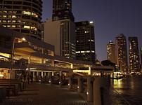 Eagle Street Pier. Evening/