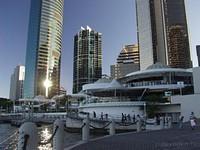Eagle Street Pier. Brisbane Rive.