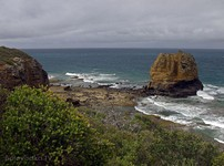 The Great Ocean Road. Eagle Rock.