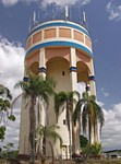 Innisfail. Водонапорная башня.