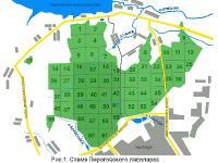 план Пироговского лесопарка. Автор фото: Юрий Семенов