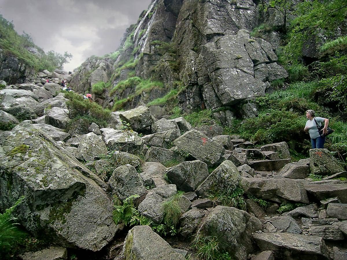 В горах Норвегии 3. Автор фото: Юрий Семенов