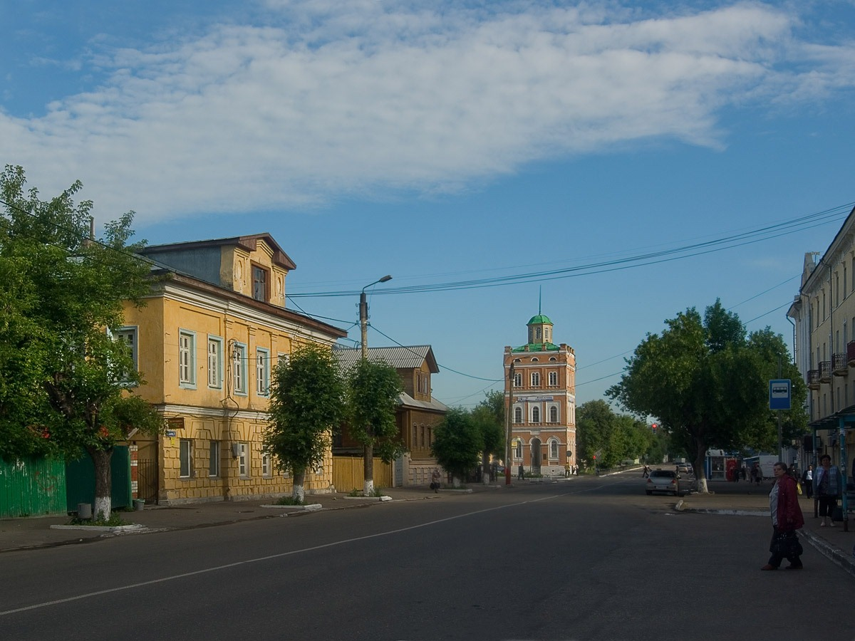 Муром. Водонапорная башня (1864г.) на улице Ленина. Автор фото: Юрий Семенов