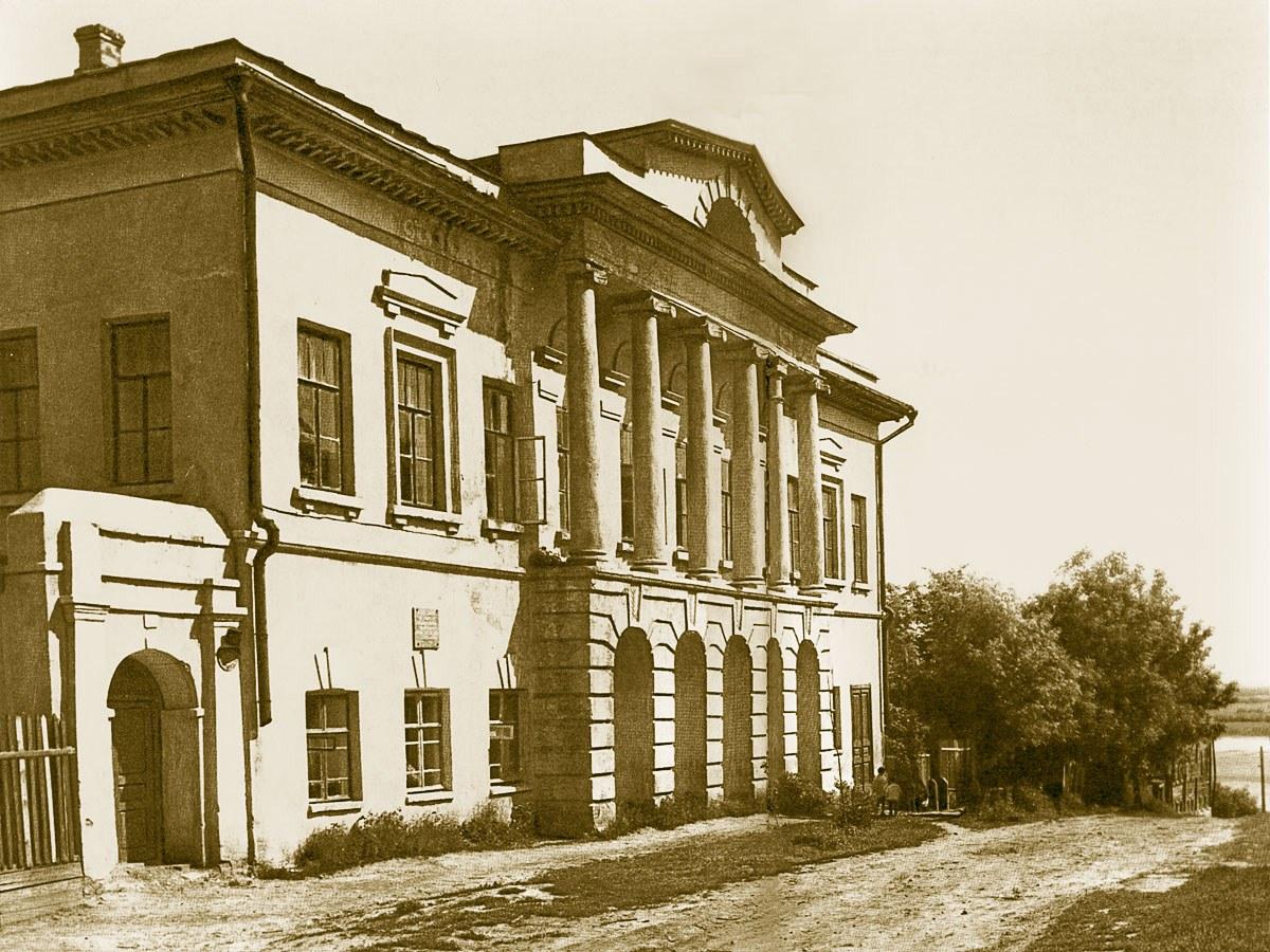 Муром. Дом Каратыгина на фото 1960-х годов