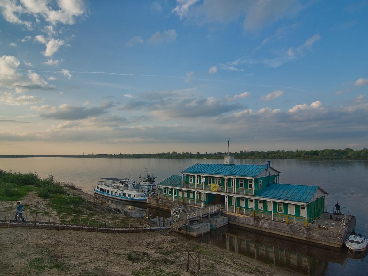 Муромская набережная. Автор фото: Юрий Семенов