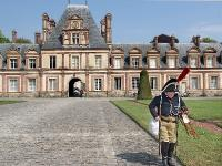 Ветеран наполеоновских войн в Фонтенбло