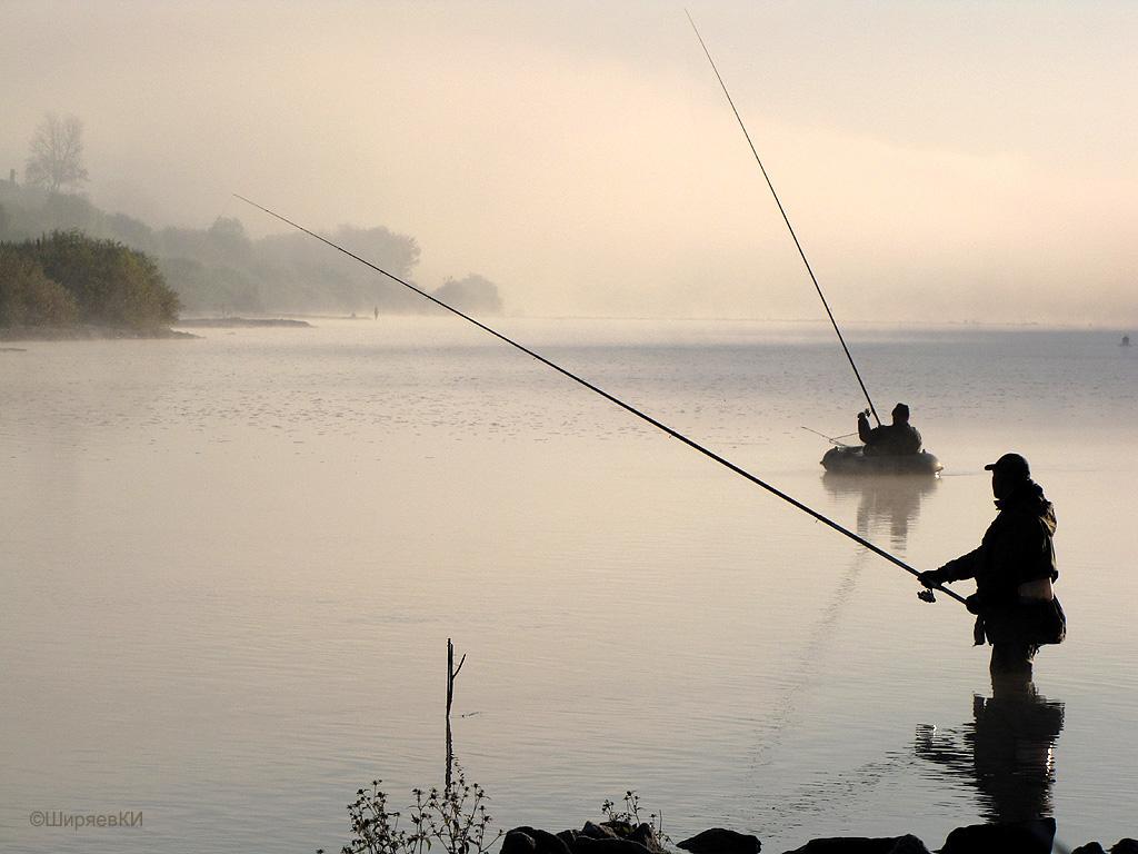 рыбаки в тумане. Автор фото: Константин Ширяев (Калуга)