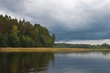 Озеро Перхово. Вид на южную часть озера
