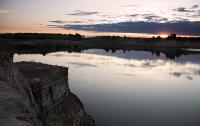 Майский закат.Автор фото - Светлана Байбекова (г. С-Петербург)
