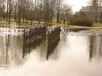 Наводнение в парке