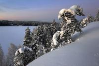 Зима, закат, простор.... Автор фото: Костюкевич Сергей, г.Санкт-Петербург