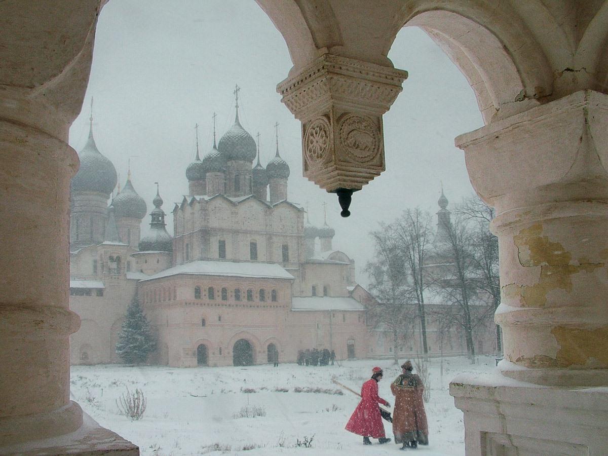 Зима в Ростове. Автор фото: Семенов Юрий, г.Мытищи