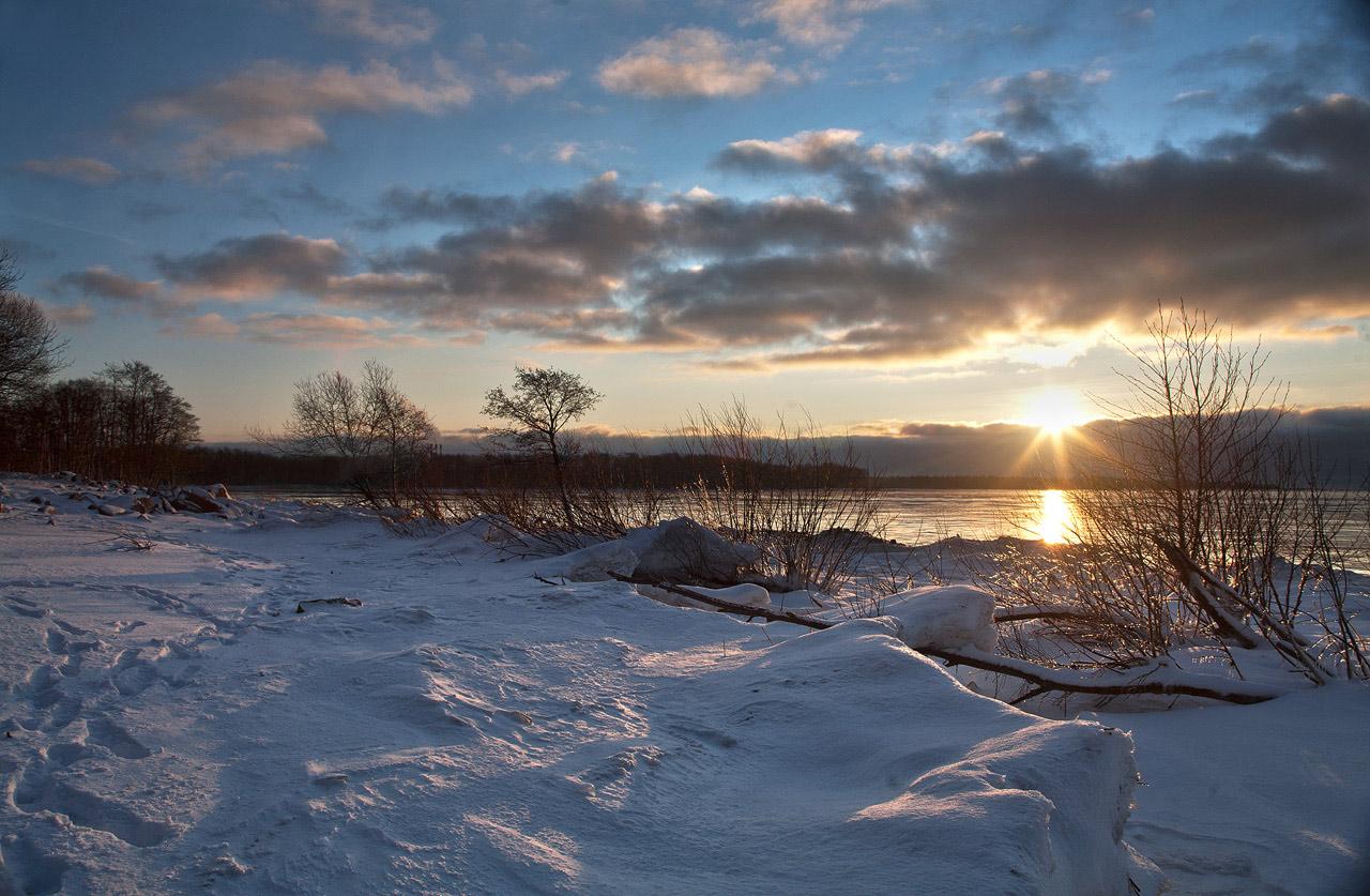 Рассвет на Финском Заливе. Автор фото: Крутоверцев Станислав, г.Санкт-Петербург